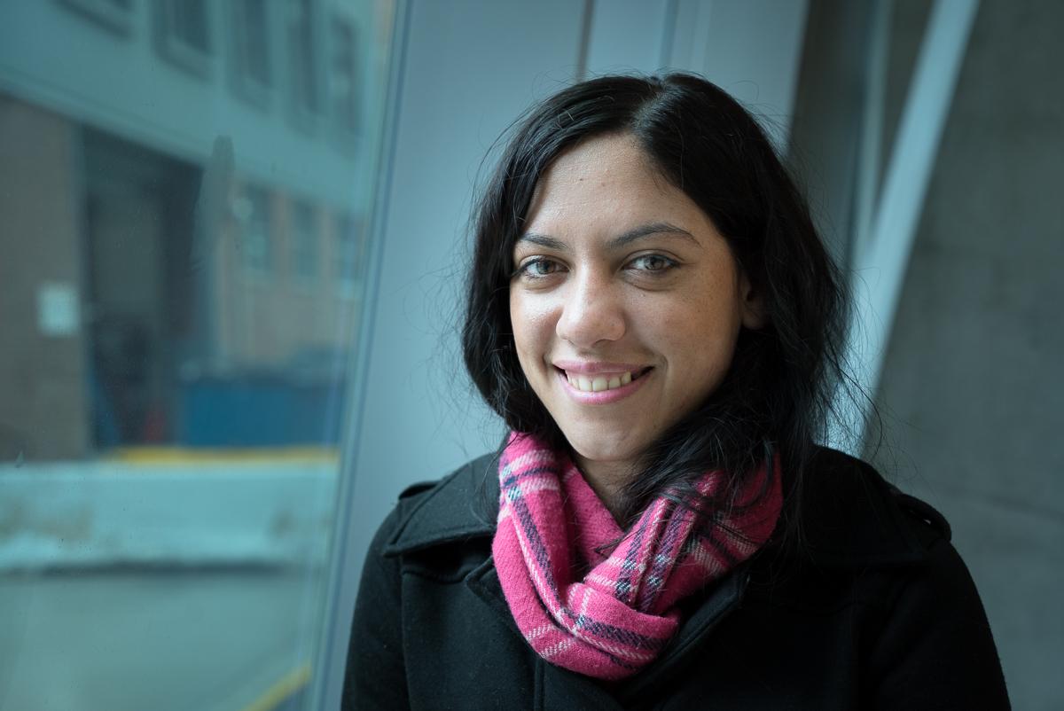 Bachelor of Business Administration student Naomi Broom