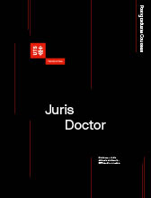 Juris Doctor course guide cover