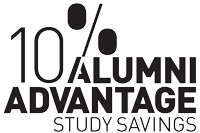 10% Alumni Advantage