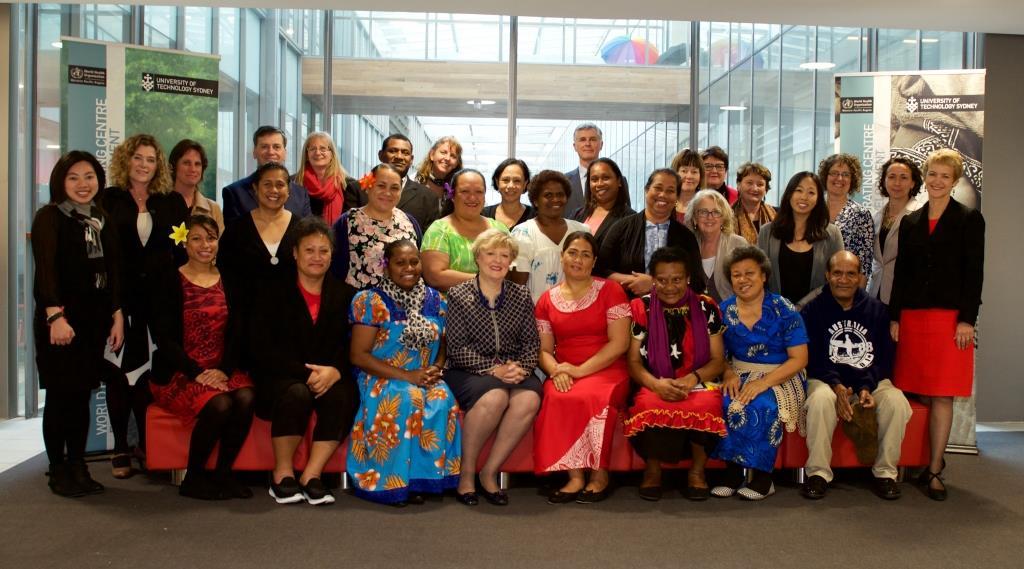 AAF Fellows and Mentors at UTS 2015.