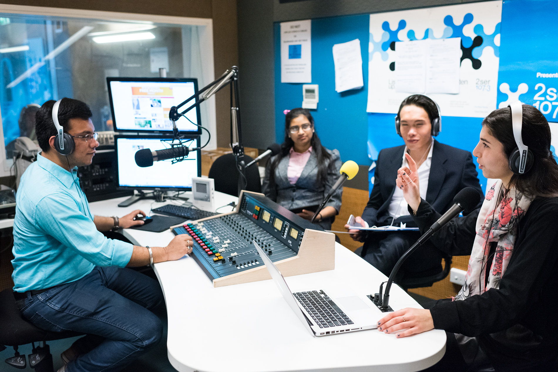 UTS Journalism students radio 2SER