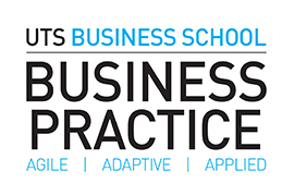 Business Practice graphical device; Agile, adaptive, Applied
