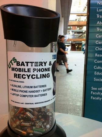 UTS battery recycling tubes