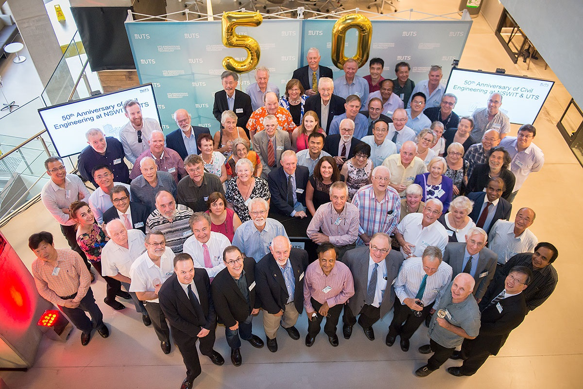 Celebrating 50 years of civil and structural engineering