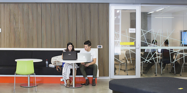 State-of-the-art facilities with flexible study spaces