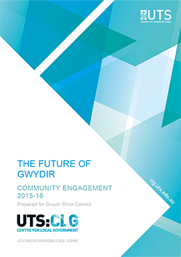 Future of Gwydir report cover