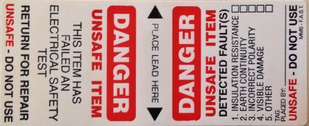 Electrical Danger Tag