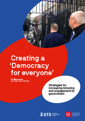 Cover of Creating a Democracy for Everyone