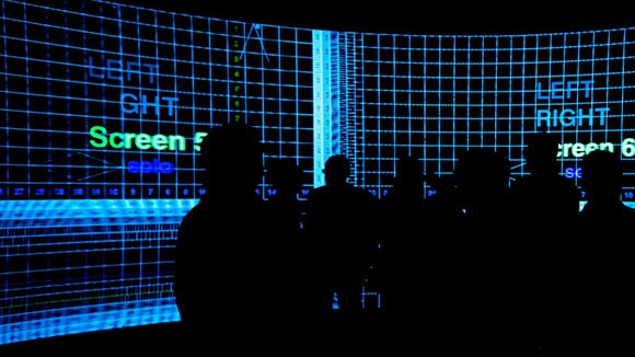 Inside the UTS Data Arena. Image Aaron Luo.