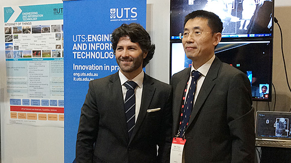 image of Victor Dominello and Gengfa Zhang