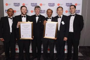 The UTS and RMS winning team at the 2013 Engineers Australia Excellence Awards Sydney (EEAS)