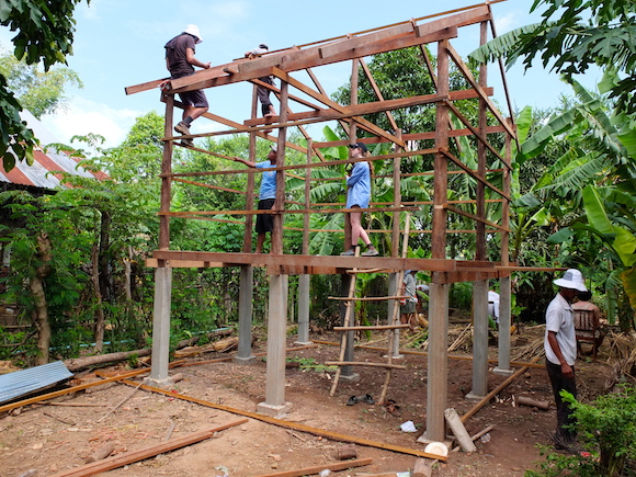 Global Studio building a house in Cambodia