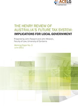 Henry Review Local Government Implications Cover