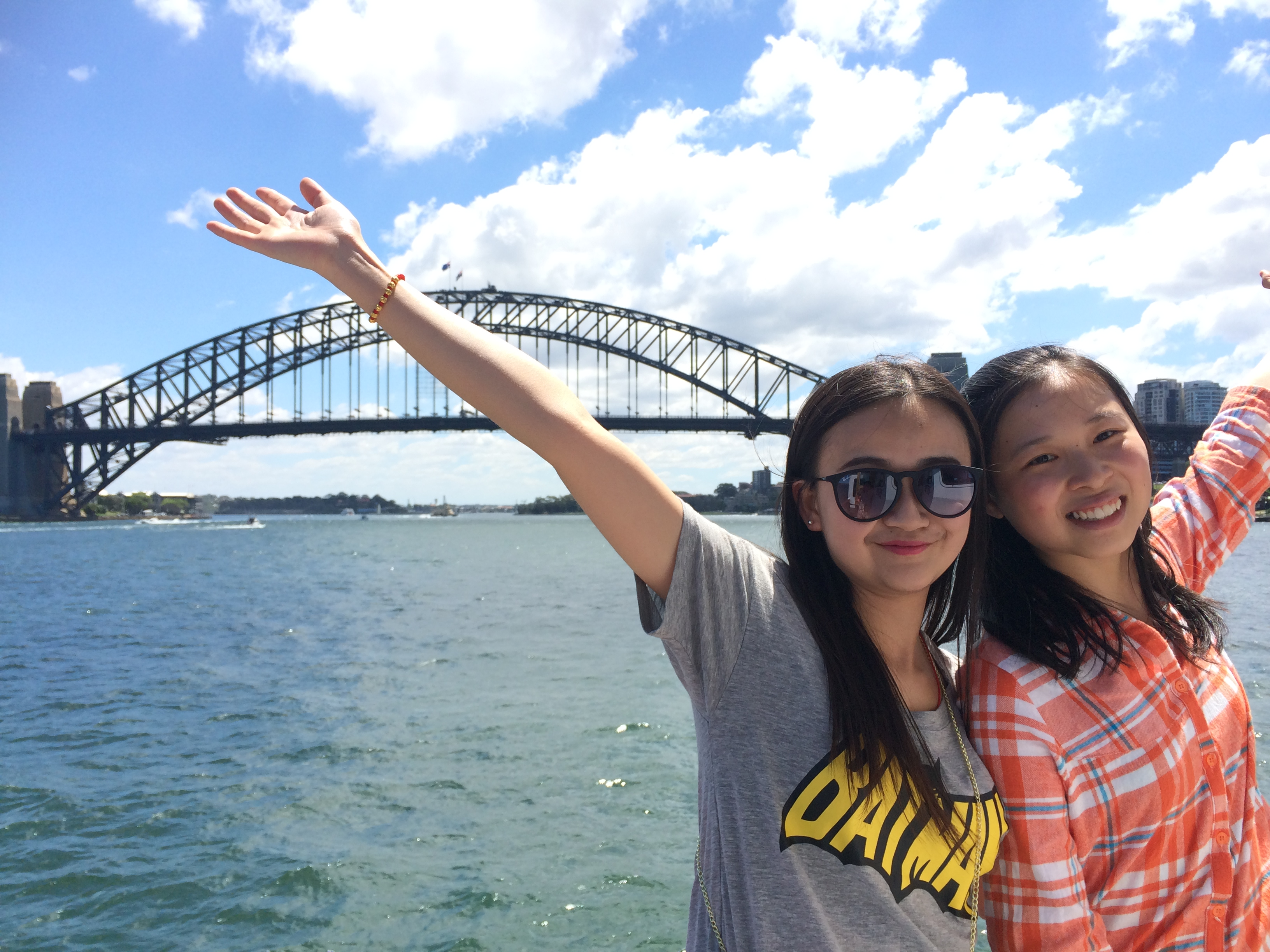 UTS International Study Tour Sydney Harbour Bridge