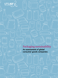 Cover of packaging sustainability report