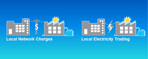 Facilitating Local Network Charges and Local Electricity Trading