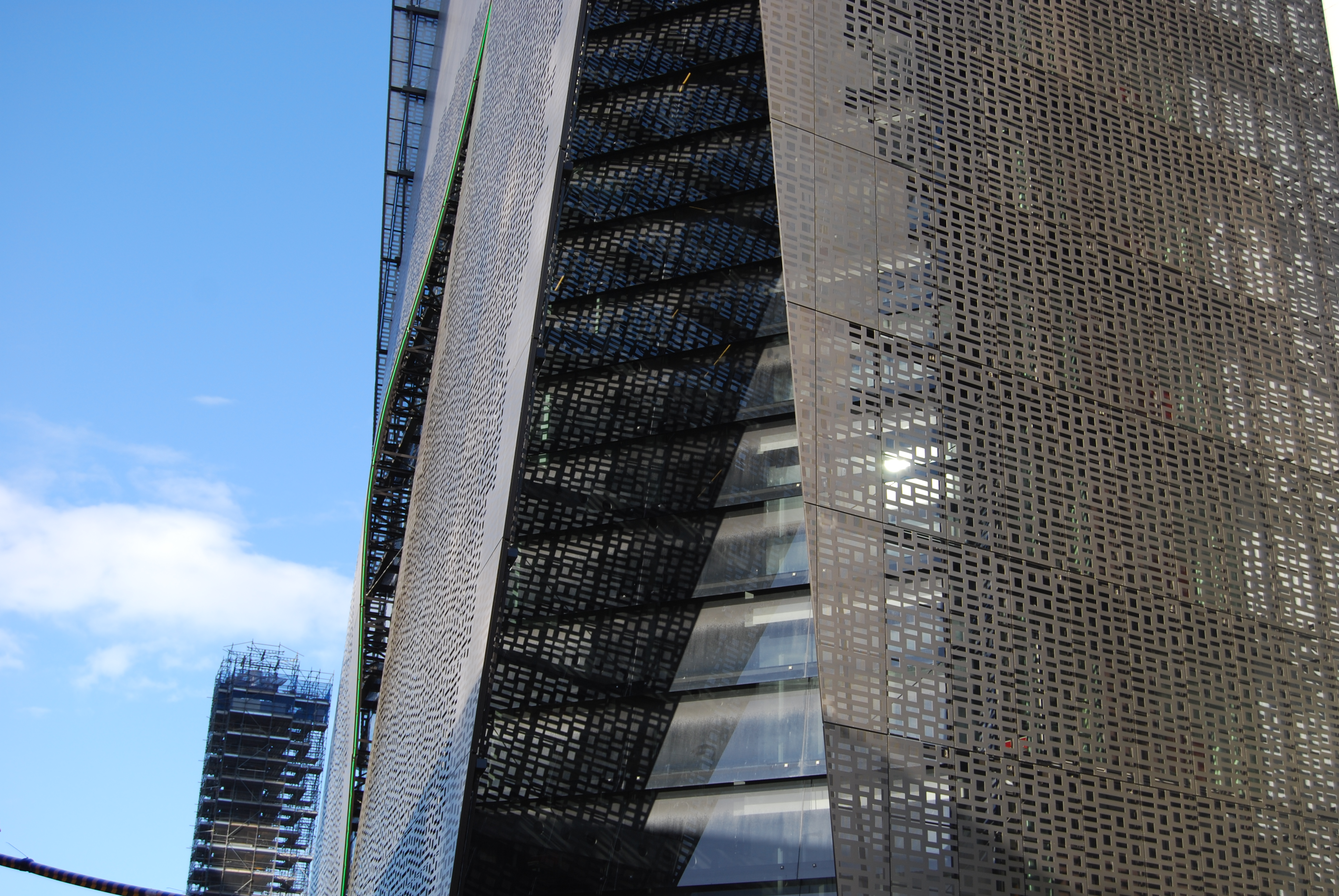 Binary screen, Faculty of Engineering and IT Building