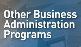 Other Business Administration Programs