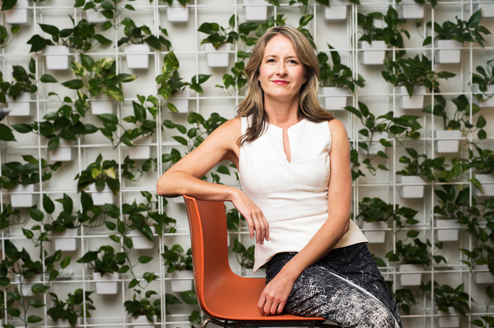 Dr Melissa Edwards says businesses are building networks to share knowledge and get past obstacles. Photo: Damien Pleming