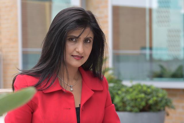 EMBA team member Nalini Prakash