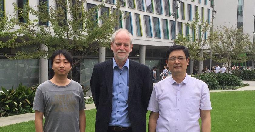 Dr. Hao Liu, Professor Peter Notten and Professor Guoxiu Wang