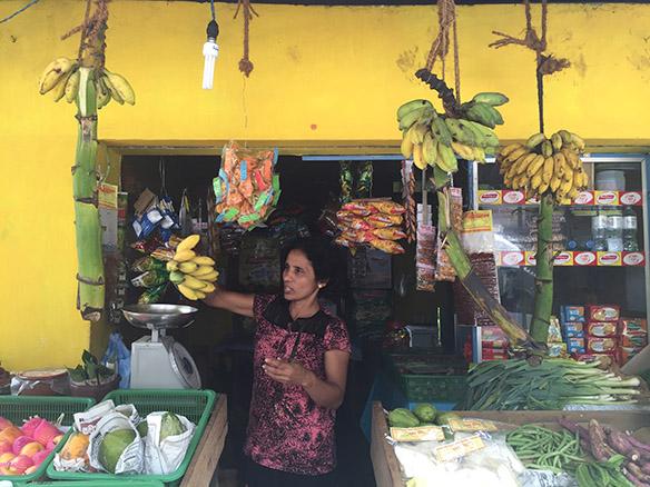 Grocery store in Sri Lanka