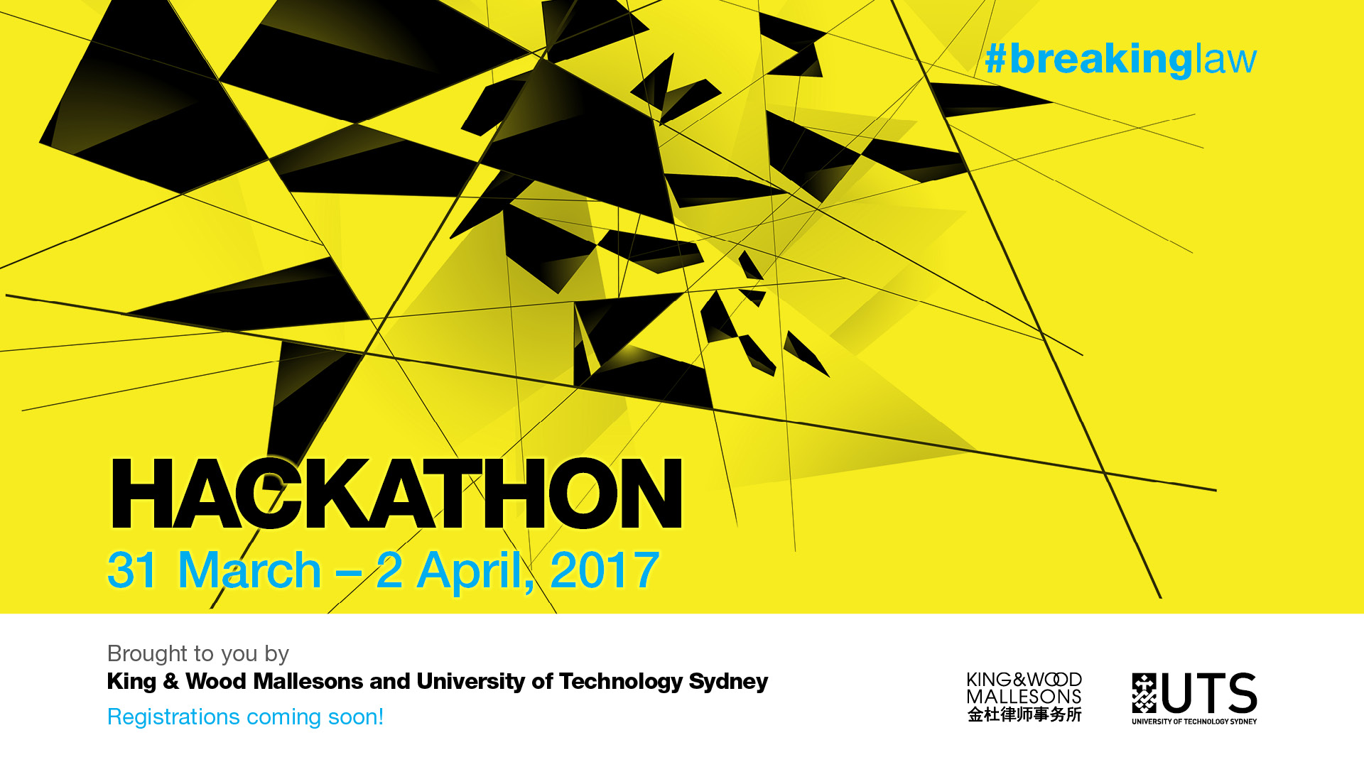 #breakinglaw Hackathon