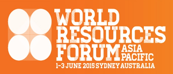 World Resources Forum banner 1 to 3 June 2015