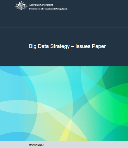 Big Data Strategy – Issues Paper
