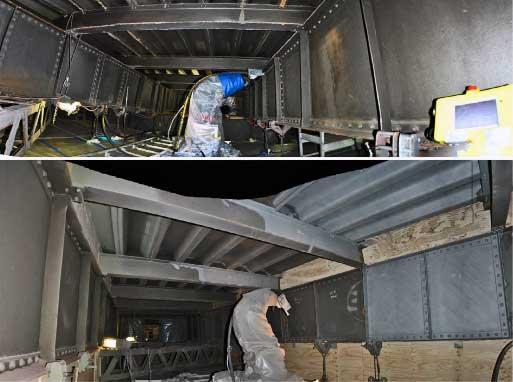 Bridge maintenance robots Sandy and Rosie