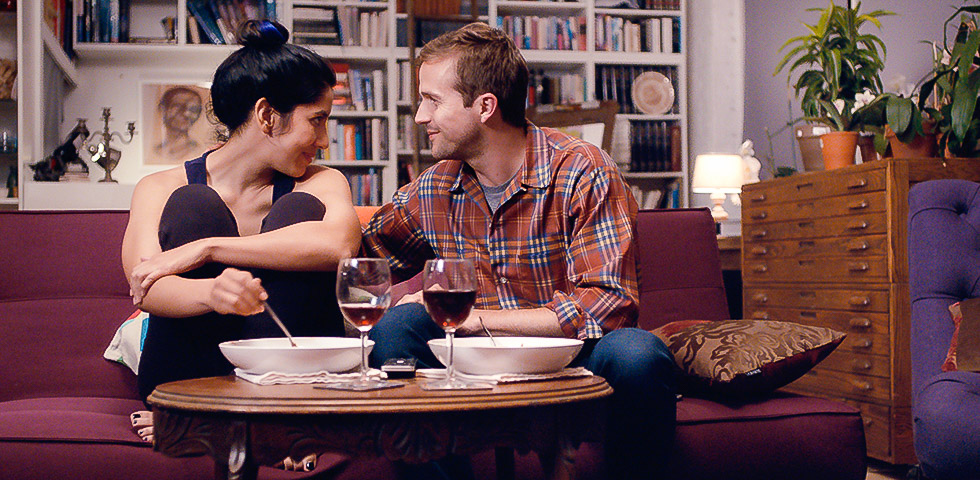 "Stephanie Beatriz and Michael Stahl-David​ in ""The Light of the Moon"" (2017)"