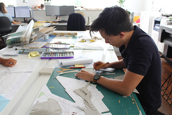 Uts landscape architecture student selected for inaugural for Aspect landscape architects