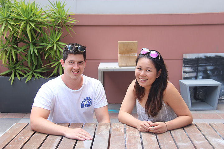 Jarrod Phillips and Andrea Lam have just completed the UTS Bachelor of Design in Architecture