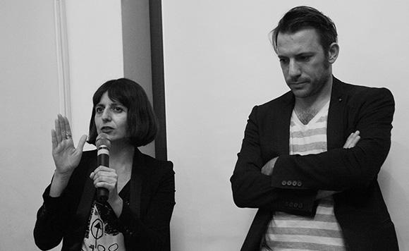 Mr Urtzi Grau and Ms Cristina Goberna