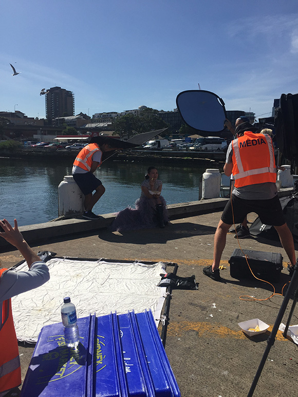 UTS PSM student Thea McLachlan learnt all about editorial photography during her time interning with Fairfax Media