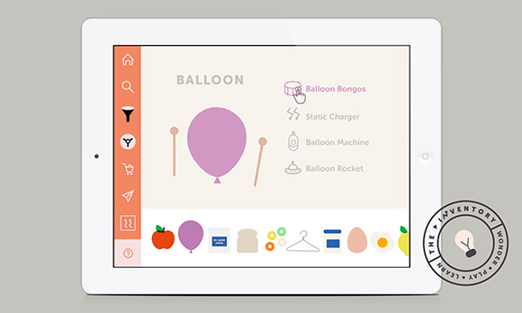 Using fun animation that brings ordinary objects to life, the app has been designed aesthetically to avoid any gender stereotypes