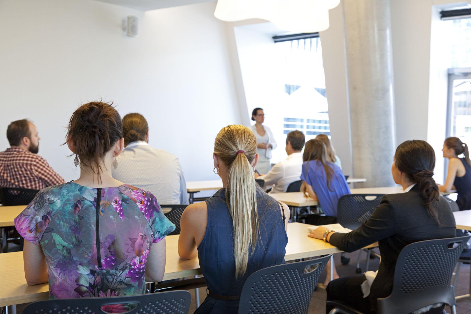 Executive Education Seminar Room - Level 8