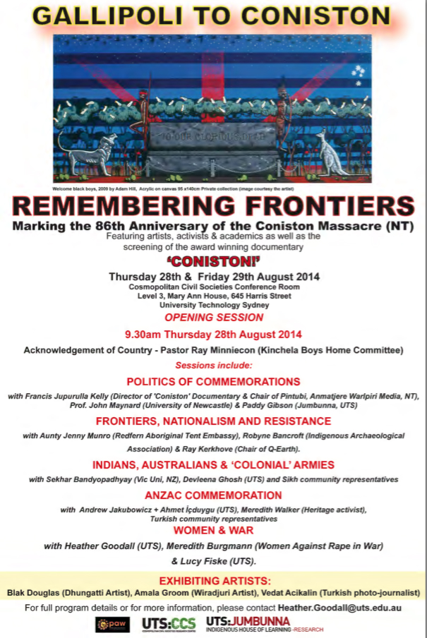 remembering frontiers flyer