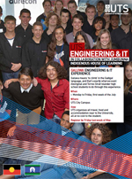Cover of the Galuwa Engineering and IT experience brochure