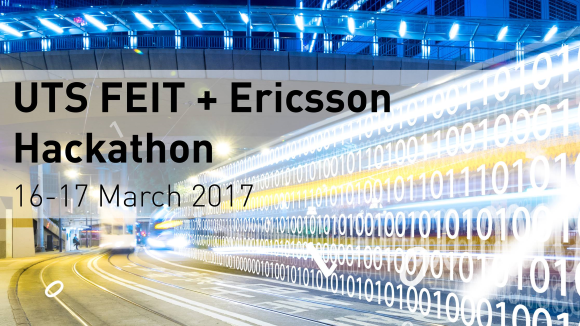 UTS Ericsson hackathon banner image