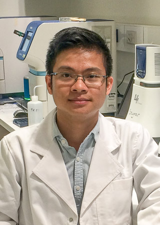 Huy Van Nguyen, PhD student, UTS Centre for Forensic Science