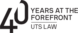 UTS Law 40th Anniversary