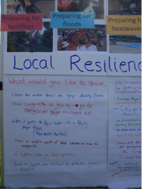 Workshop notes Local Resilience