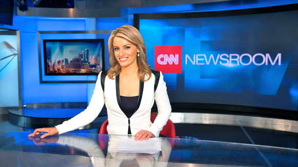 Lynda Kinkade, UTS Bachelor of Communication (Journalism) student and CNN anchor