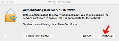 MacOSX verifying upgraded certificate