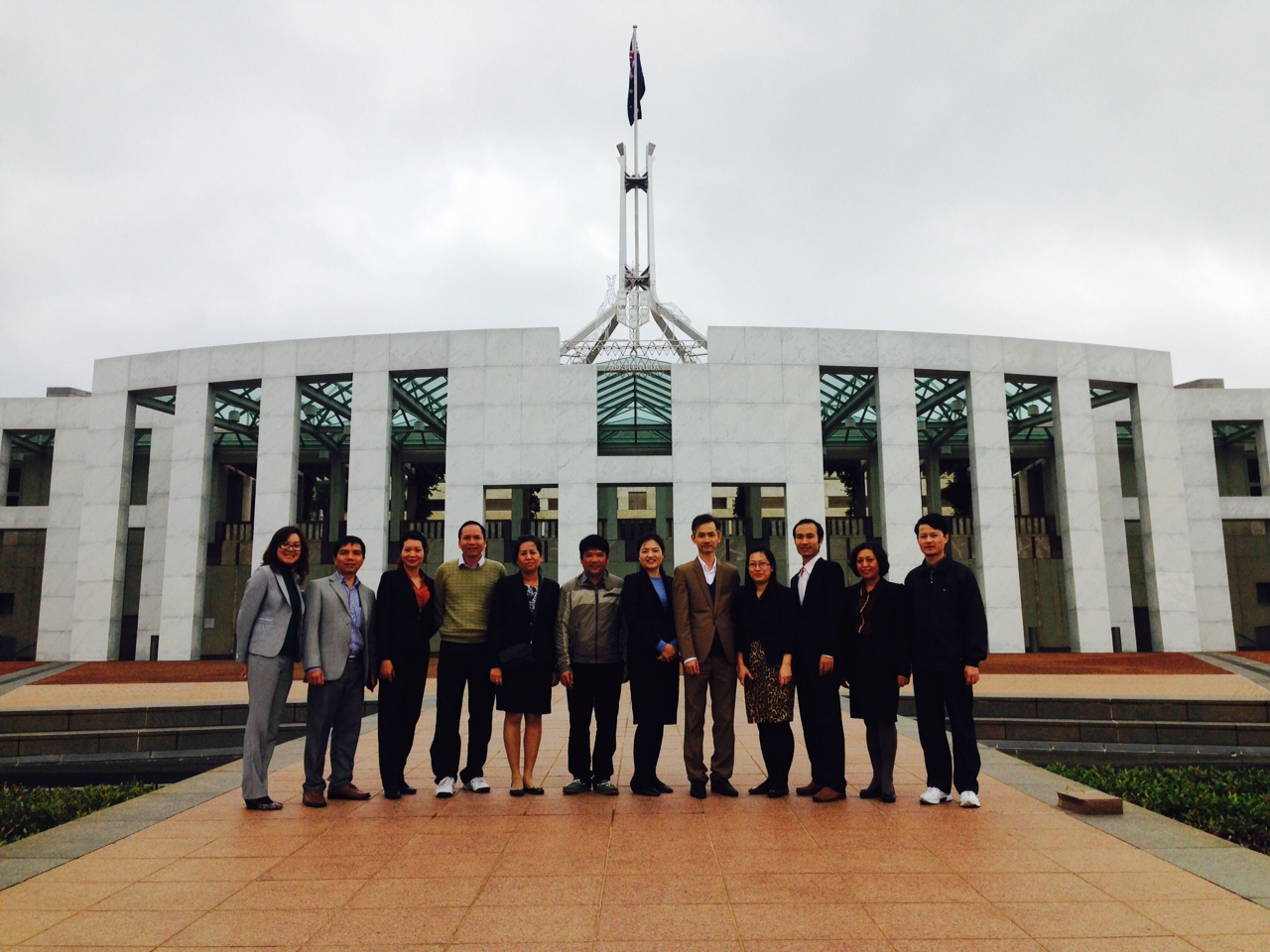 International Study Tour Parliament House Canberra