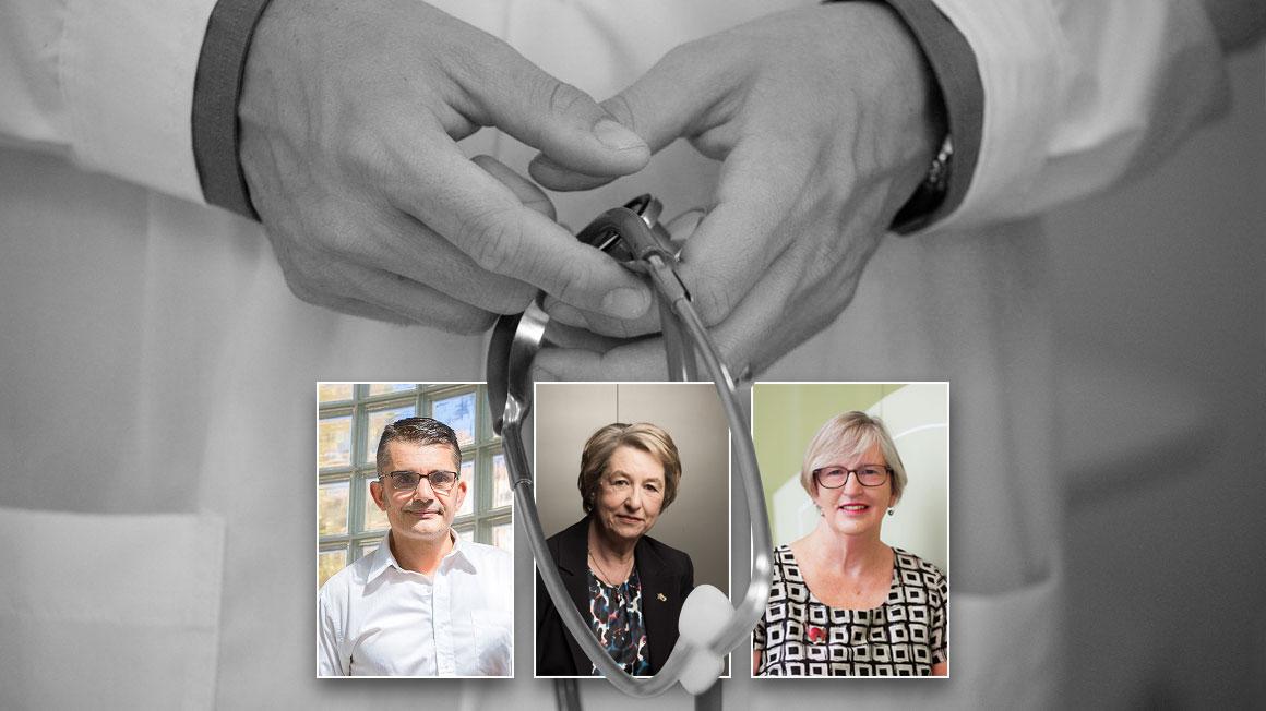 Richard De Abreu Lourenco, Jane Hall and Marion Haas