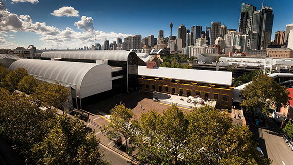 View of Powerhouse Museum from the top