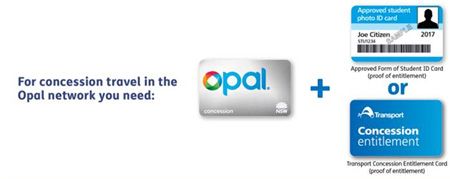 opal student concession card application