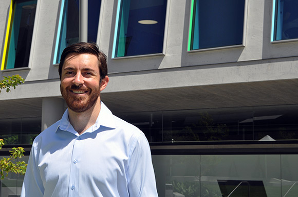 UTS Science postdoctoral fellow, Dr David Bishop has been awarded a postdoctoral Fulbright Scholarship
